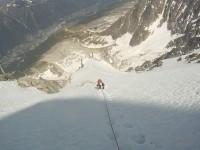 snieźne podejście pod lodowe wyciągi
